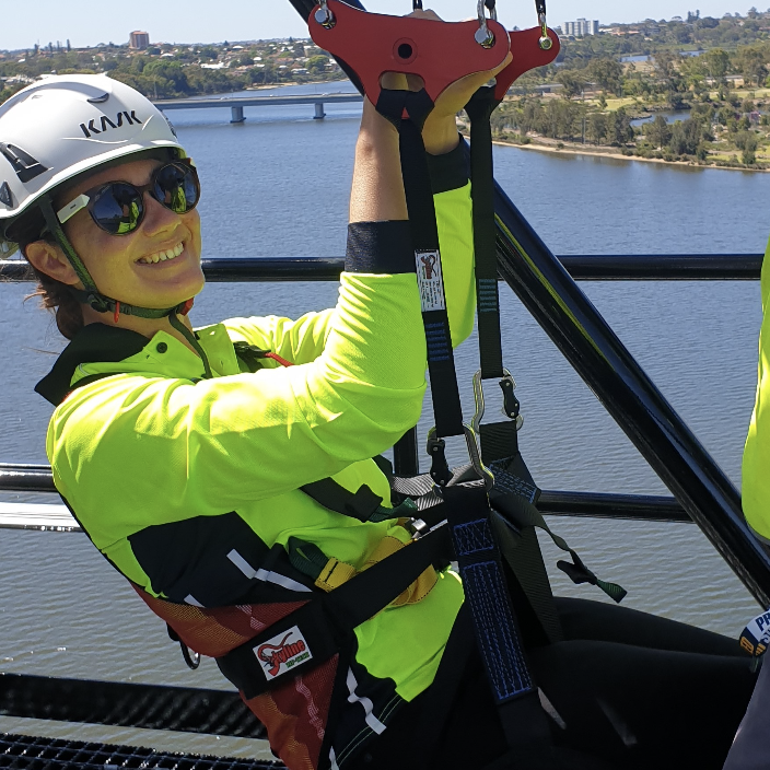 Zip line Bridge Climb Perth things to do